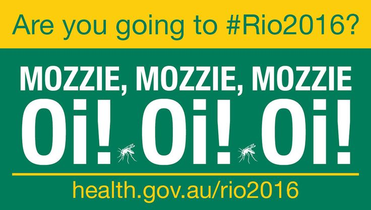 There is NO vaccine for Zika virus. Avoid mosquito bites & practise safe sex. Visit health.gov.au/rio2016 for info