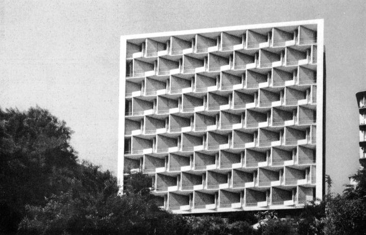 Robaldo Morozzo della Rocca - Apartments, Coronata, Genoa - 1957-59