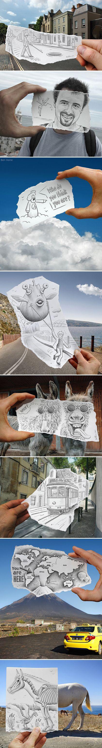 Ben Heine: Pencil Versus Camera