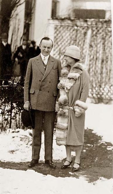 President Coolidge and Helen Keller 1926