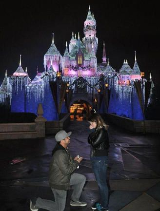 10 Most Romantic Places To Propose At Disney | Photo by: Proposal Awards | TheKnot.com