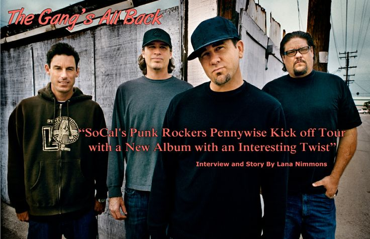 "Interview - ""SoCal's Punk Rockers Pennywise Kick off Tour  with a New Album with an Interesting Twist"""
