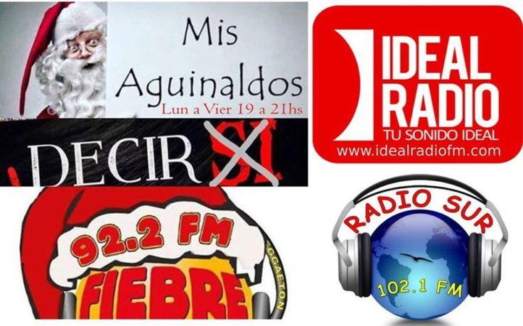 """Conexión en Vivo del 28 de Nov al 23 de Diciembre """"Mis Aguinaldos"""" el programa de la navidad en España con @kikesanchezfiebrelatina El que diga """"SI"""" Pierde lunes a viernes desde las 19hs con @fiebrelatinaradio 92.2 FM Málaga. Por primera vez para @radiosur102.1 Sevilla y @idealradiofm Descarga nuestra App Fiebre Latina y Radio Sur  e Ideal Radio www.fiebrelatinaradio.com www.radiosur.com y www.idealradiofm.com"""