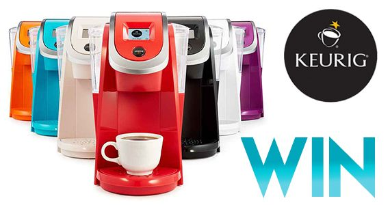 Win A Colourful Keurig Coffee Brewer