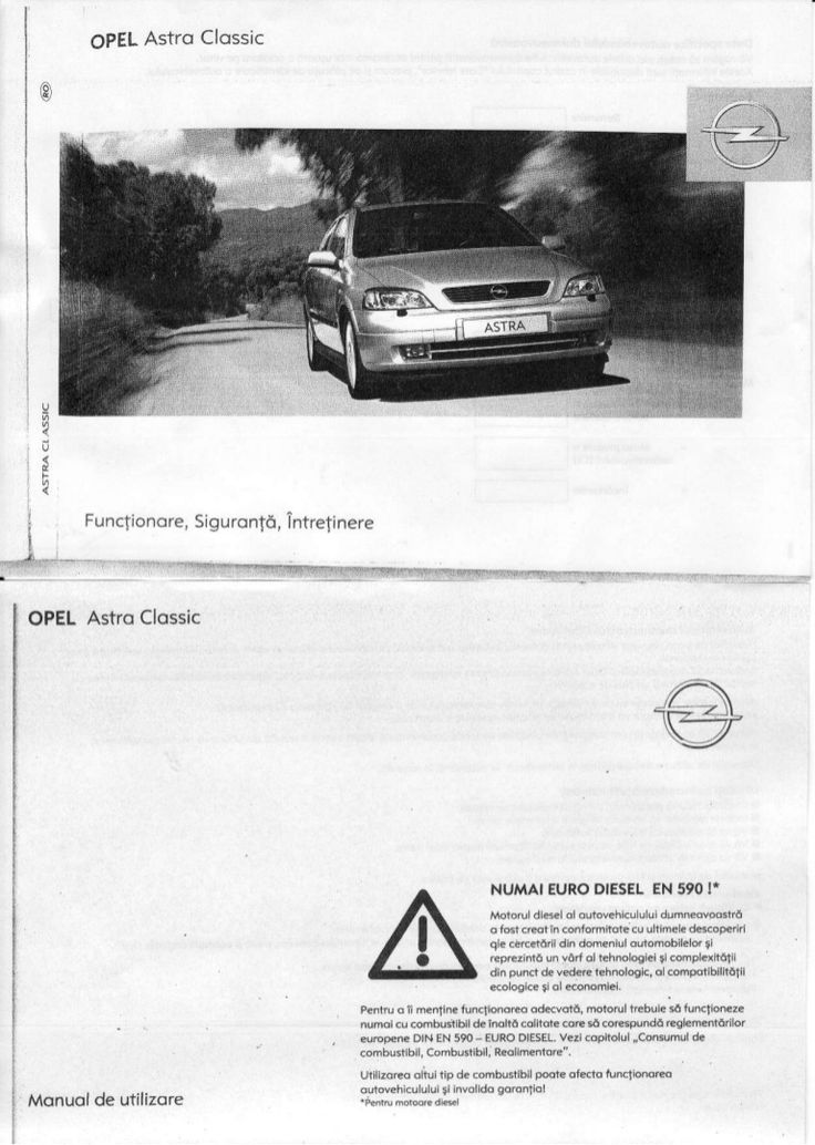 manual-utilizare-opel-astra-g by aditu_7 via Slideshare