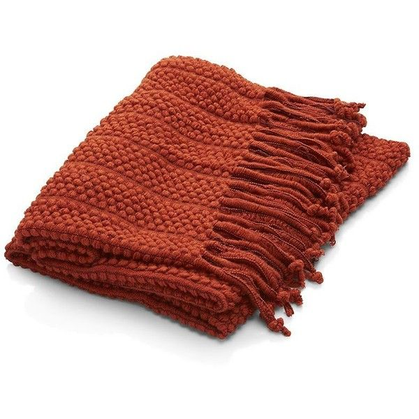 cozy up in a warm throw blanket from crate and barrel
