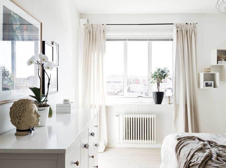 Un piso blanco y gris lleno de luz blog - Piso blanco y gris ...