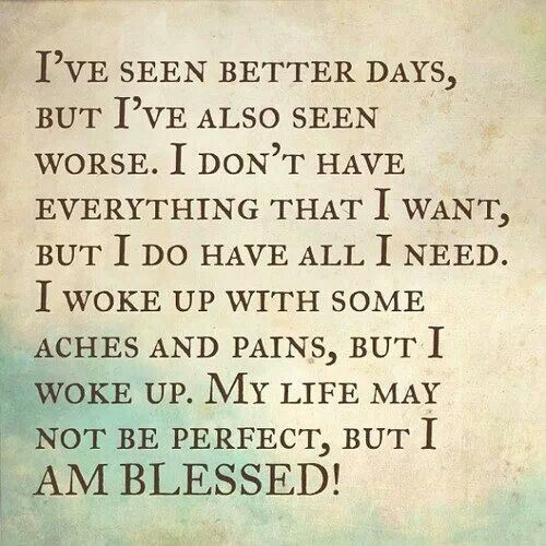 i am blessed quotes - photo #11