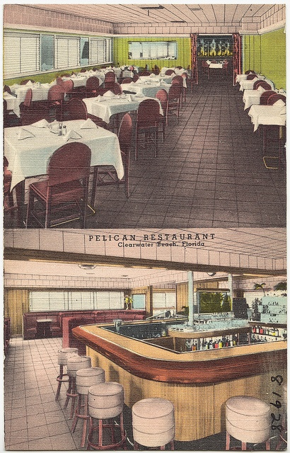 Pelican Restaurant, Clearwater Beach, Florida
