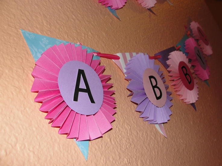 A banner I made for my daughters 1st birthday party: 1St Birthday Parties, My Daughter, Daughters 1St, 1St Birthdays, Birthday Party