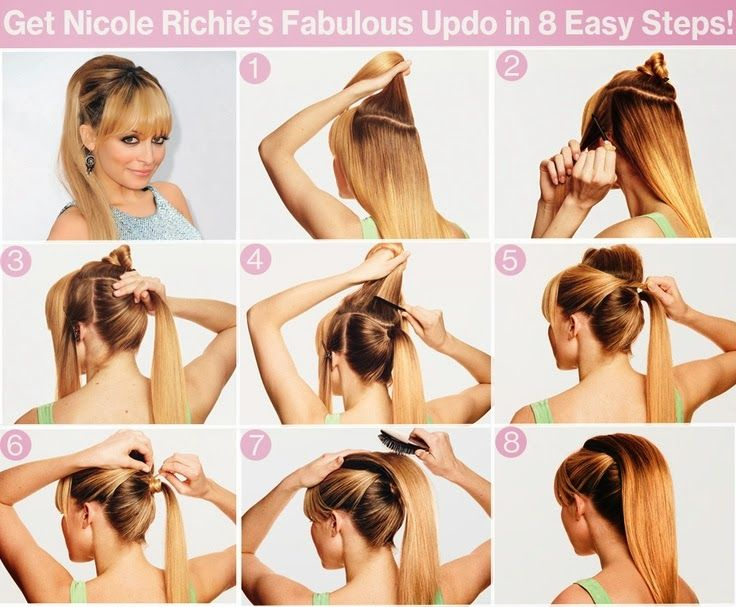 Best 64 Updo Hairstyles images on Pinterest | Hair and beauty