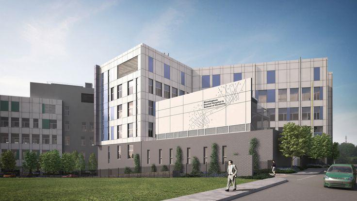 Work to start on £50m Birmingham Dental Hospital & School of Dentistry