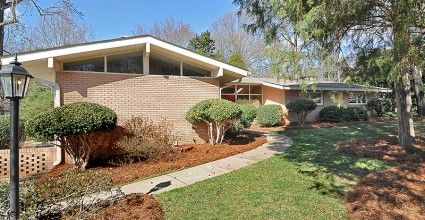 1960s ranch house | Modern Charlotte, NC Homes For Sale | Mid-Century Modern Real Estate ...