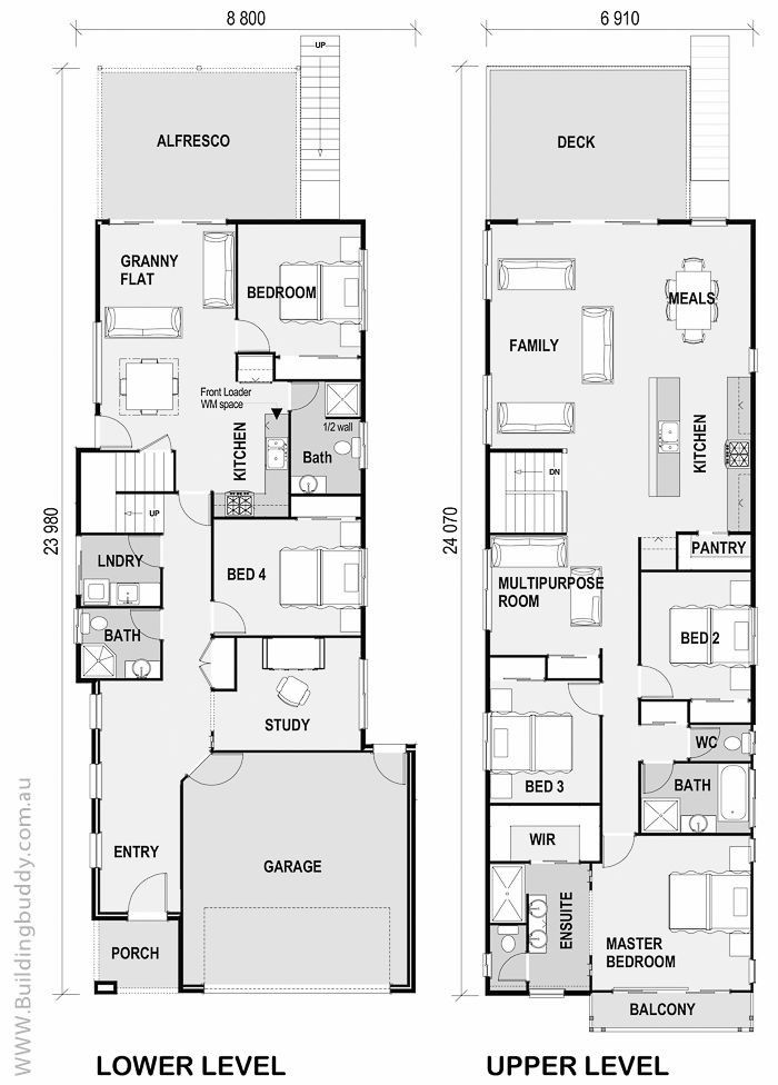 Custom Home Design And Build Concept To Completion Plans Prices And Builders Small Lot House Pl Narrow Lot House Plans Duplex House Plans House Floor Plans