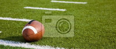 Choose a wall mural  football, field, turf - an american football on field. PIXERS wall murals made of great fabrics. Choose artistic photos from our catalog.