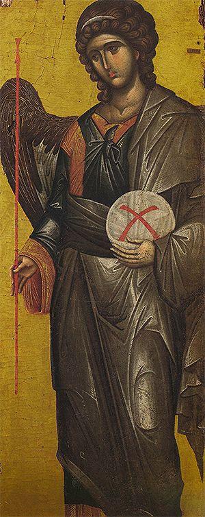 Ο Αρχάγγελος Γαβριήλ της Ιεράς Μονής Βατοπεδίου