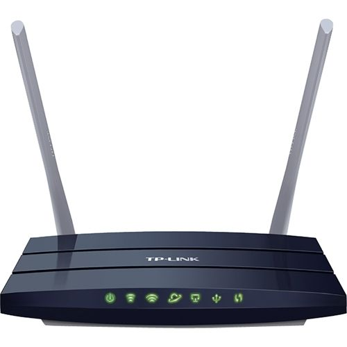 TP-Link - Archer C50 AC1200 Wireless-AC Dual-Band Router - Black