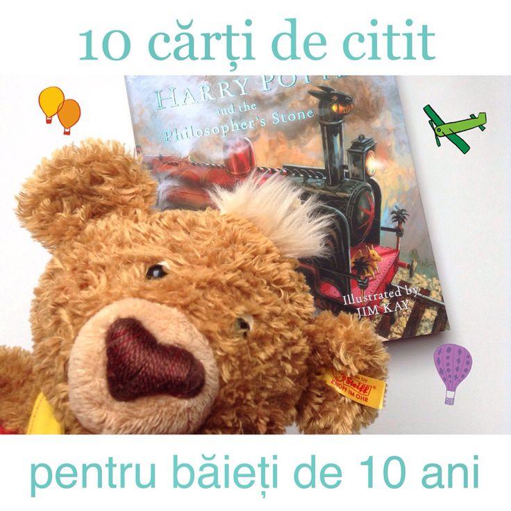 Băiatul meu are 10 ani. Ce cărți îmi recomandați? Iată o listă cu 10 cărți de citit pentru băieți de 10 ani. Aventuri, dar și învățăminte.