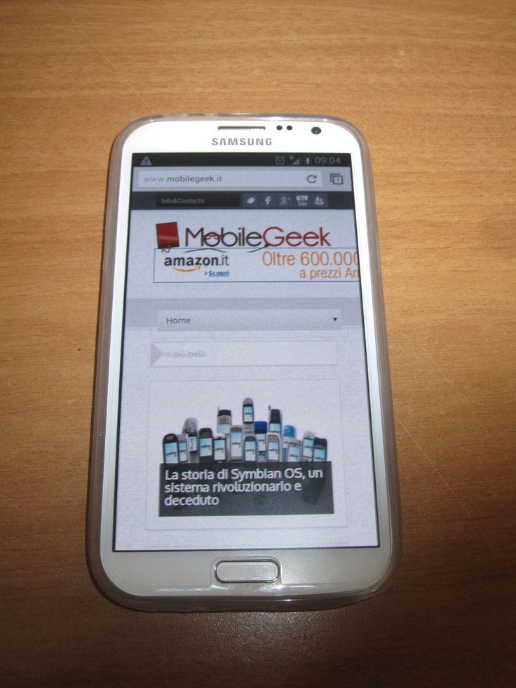 Recensione FlexiShield Skin per Galaxy Note2