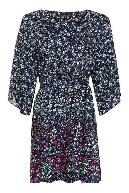 Thistle Print Dressing Gown - New In- Topshop USA