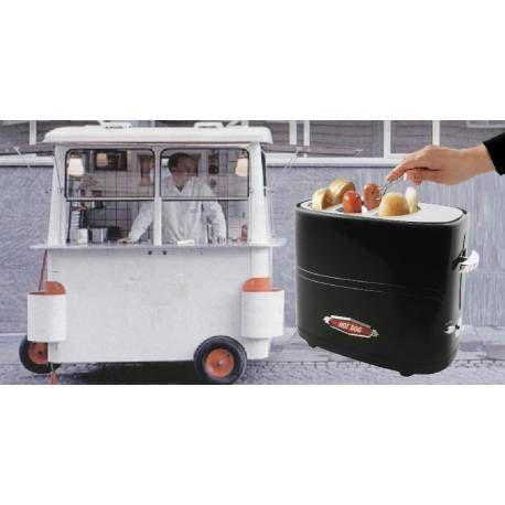Professional hotdog machine  Check it out on: https://tjengo.com/kokkenmaskiner/271-professionel-hotdog-maskine.html
