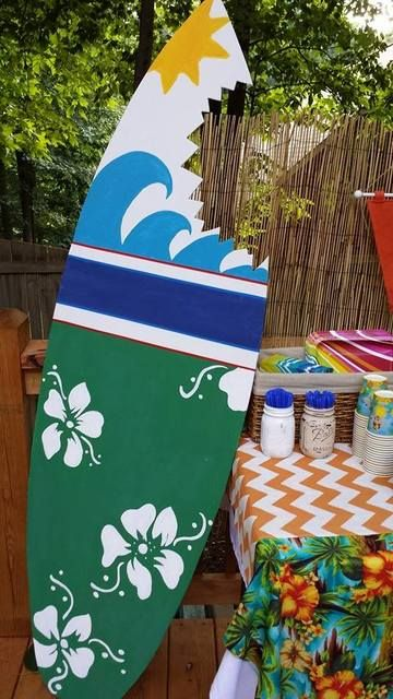 Teen Beach Movie Party decorations!  See more party ideas at CatchMyParty.com!