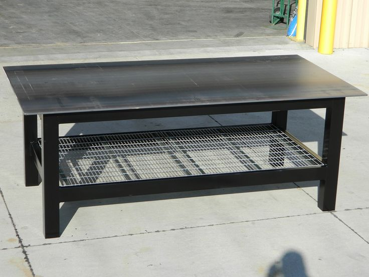 Welding Tables & Workbenches - The Big Rack Shack