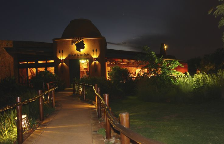 Kraal Kombuis Restaurant - Entrance