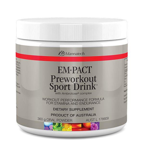 EM•PACT Preworkout Sport Drink™ | Mannatech