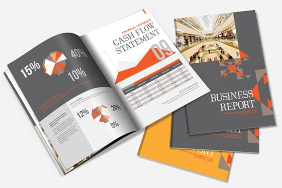 Check out Annual Report / Brochure Template by Templatepickup on Creative Market