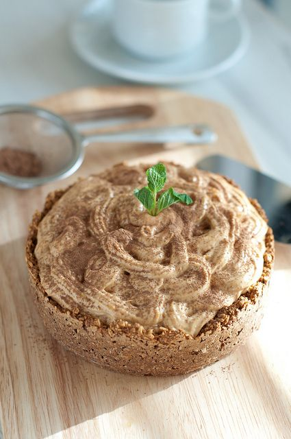 Мини-торт с творожно-абрикосовым кремом