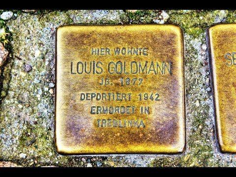 Louis Goldmann • Marientorstraße 10 • Stolperstein in Osterode am Harz ...
