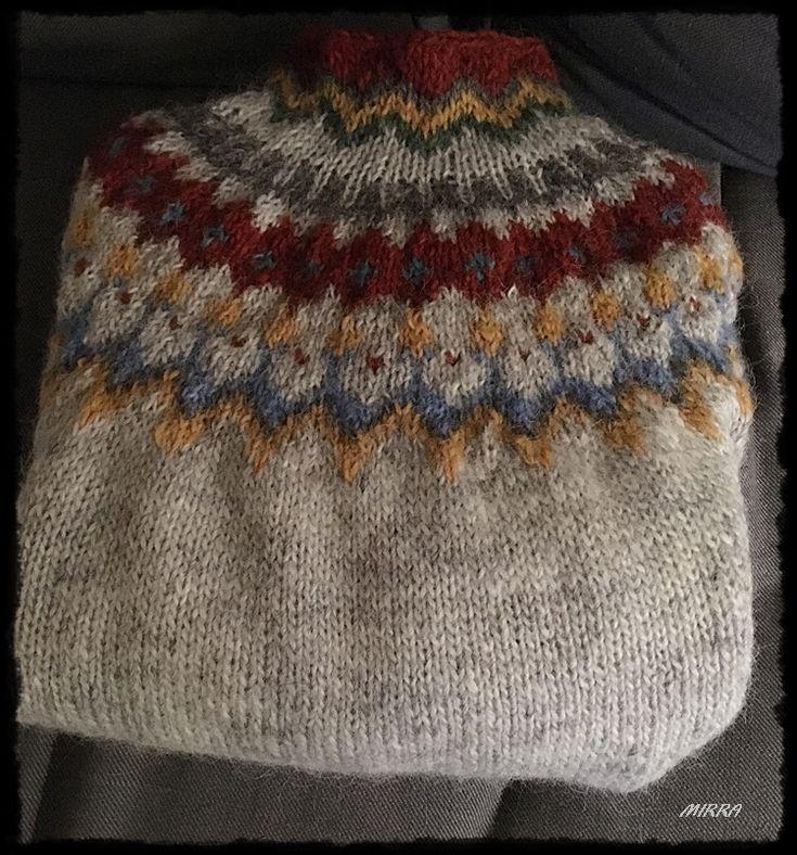 Ranga genser Island strikk