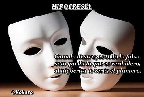 HIPOCRESÍA, @KOKOROALMA @Esveritate  http://kokoroalmapoesia.blogspot.com.es/2017/09/hipocresia.html
