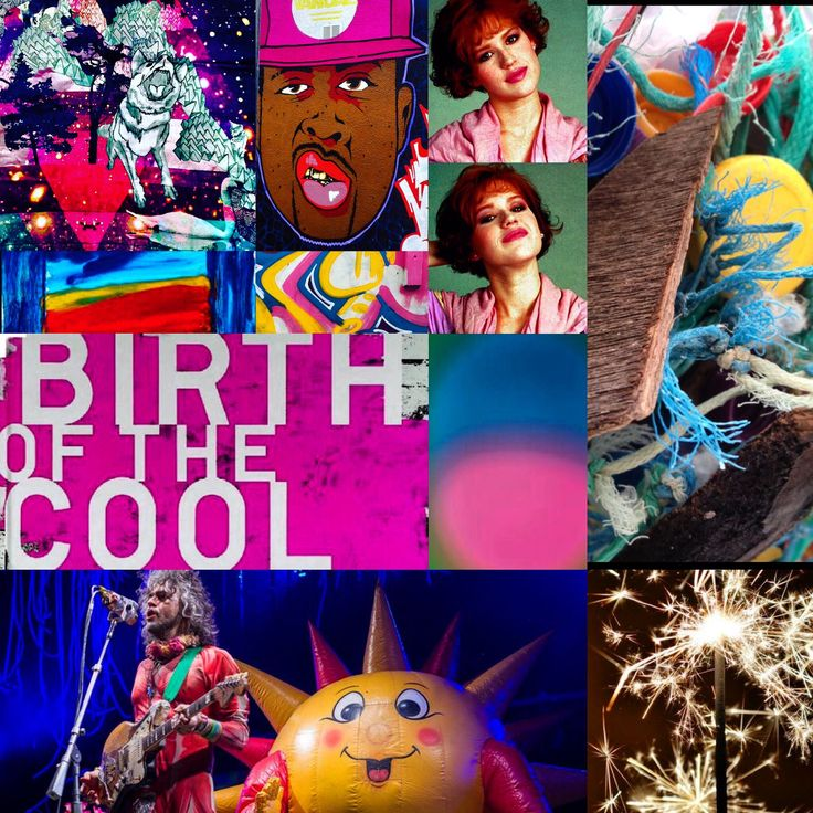 The Birth of Cool photomontage mashup by Lizzie Reakes