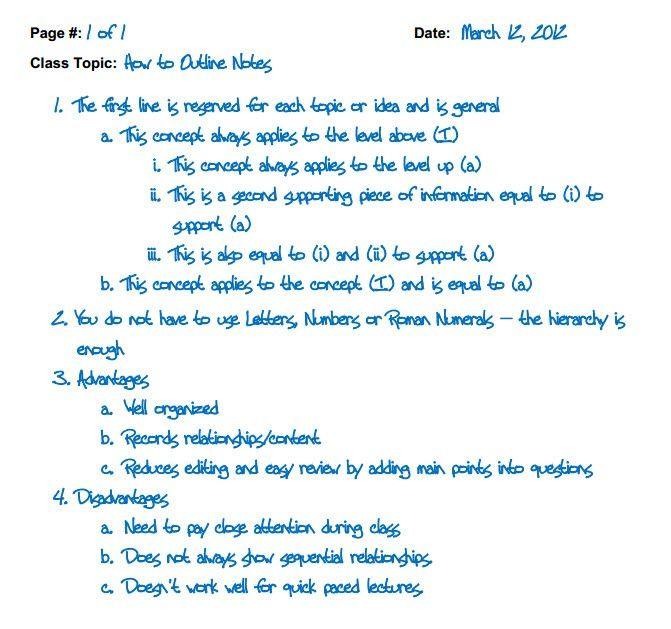 The  Best Notetaking Strategies Ideas On   Note