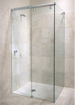 SimplyFrameless Hydroslide Frameless Sliding Shower Screen