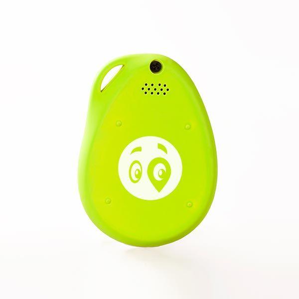 gubloos GPS Tracker - Green back side with logo
