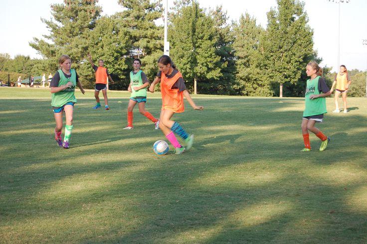 Girl's soccer, August 2014