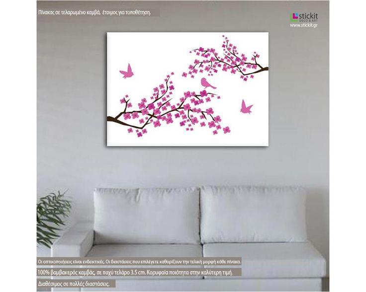 Blossom Cherries,  πίνακας σε καμβά
