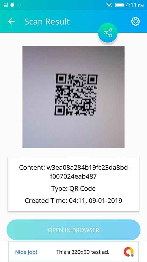 QRcoba - A QR/Barcode Generator and Scanner Android App with Admob