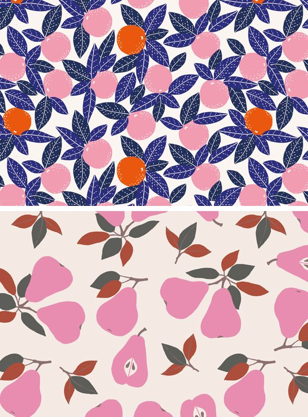 Fruit patterns by My Textile Design