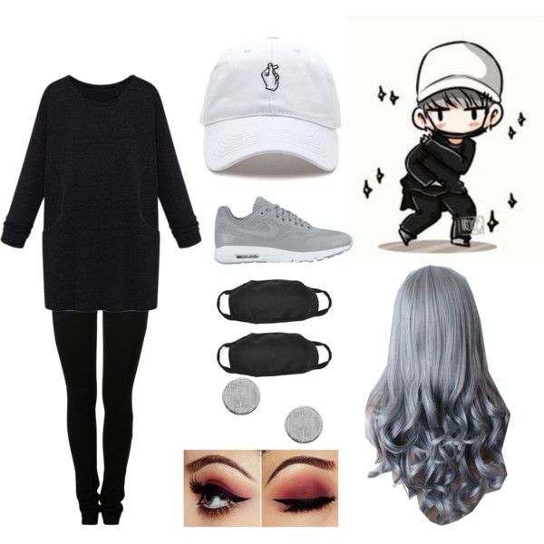 Yoongi beapsae inspired outfit! by bts4ever02 on Polyvore featuring MM6 Maison Margiela and NIKE