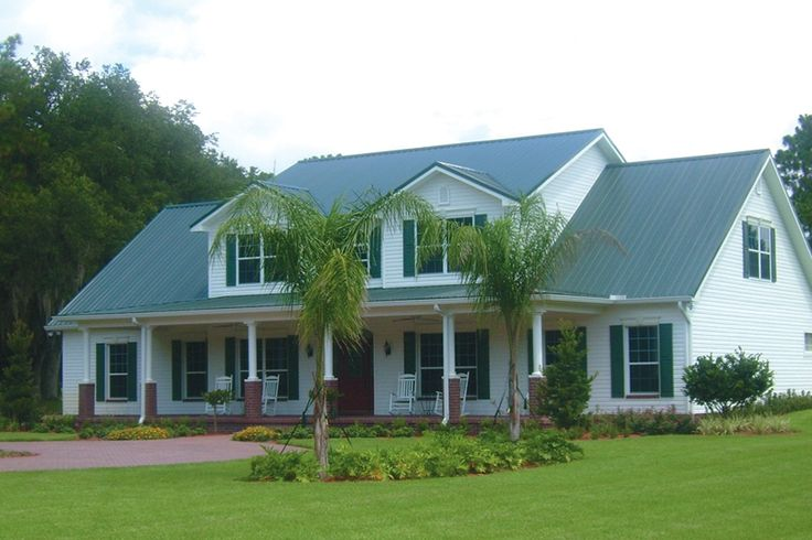 Best Fern Green Ag Panel Metal Roofing Exposed Fastener 640 x 480