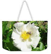 Insect And Flower Weekender Tote Bag