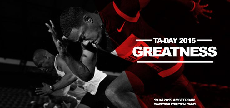 Join Athletes in Action Netherlands next April 19  in Amsterdam for their:  TA Day 2015 http://totalathlete.nl/taday/