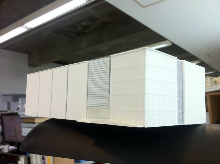SFC Laboratory III Clean-room  Mass model SFC 연구소 클린룸동 매스모델