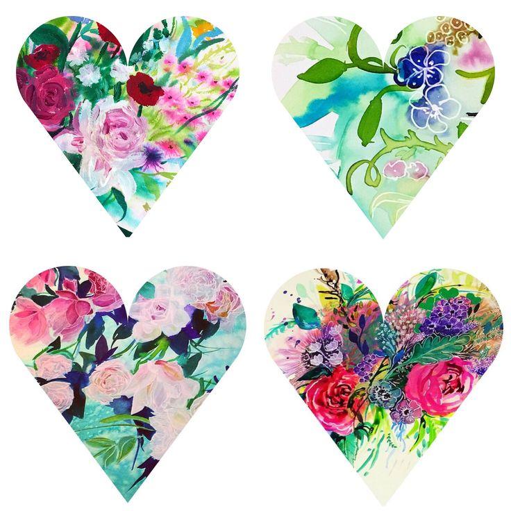Little hearts, Carol Clough
