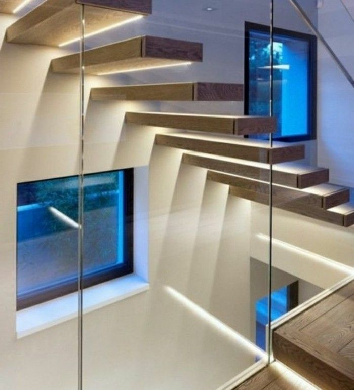 les 25 meilleures id es de la cat gorie led escalier sur. Black Bedroom Furniture Sets. Home Design Ideas
