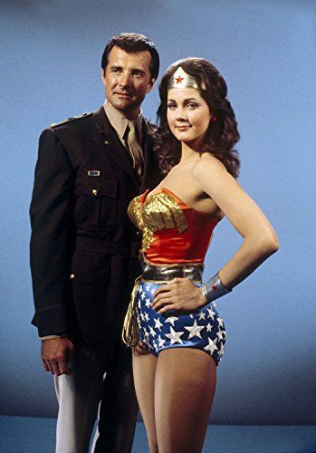 Lynda Carter and Lyle Waggoner in The New Original Wonder Woman (1975)